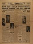 The Advocate-January 21, 1928