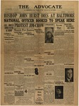 The Advocate-May 14, 1930