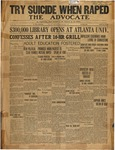 The Advocate-November 7, 1931