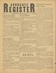 Advocate Register-December 8, 1950