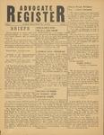 Advocate Register-December 15, 1950