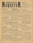 Advocate Register-January 12, 1951