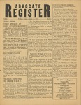 Advocate Register-January 26, 1951