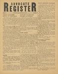 Advocate Register-February 16, 1951
