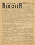 Advocate Register-February 23, 1951