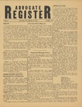 Advocate Register-March 16, 1951