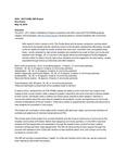 University Housing & Residential Learning Artist in Residence Proposal