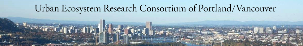 Urban Ecosystem Research Consortium of Portland/Vancouver