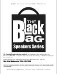 """Black and Puerto Rican Art Movements,"" Yasmin Ramirez, the Black Bag Speakers, PSU, 2006"