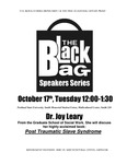 """""""Post Traumatic Slave Syndrome,"""" -- Part 1, Joy Leary, the Black Bag Speakers Series, PSU, 2006"""