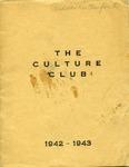 Culture Club, 1942-1943 by Culture Club
