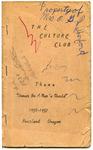Culture Club, 1956-1957 by Culture Club
