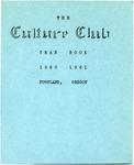 Culture Club, 1960-1961