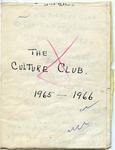 Culture Club, 1965-1966 Draft by Culture Club