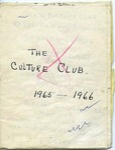 Culture Club, 1965-1966 Draft