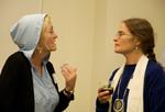 Martha Gies and Laura Di Trapani