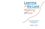 Learning the Land Walking Tour by Molly Sherman