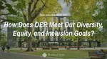 How Does OER Meet Our Diversity, Equity, and Inclusion Goals?