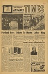 Oregon Advance Times-April 11, 1968