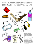 What You Should Always Bring To A March To Keep You Safe(r) by Sarah Farahat