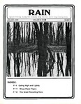 RAIN: Appropriate Technology, Recycling, Video, Community, Energy, Wind, Solar, Land Use, Energy Conserving Lifestyles