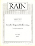 RAIN: Journal of the Center for Urban Education