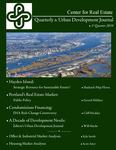 Center for Real Estate Quarterly, Volume 4, Number 1