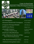 Center for Real Estate Quarterly, Volume 4, Number 2