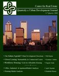 Center for Real Estate Quarterly, Volume 3, Number 1