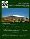 Center for Real Estate Quarterly, Volume 3, Number 2