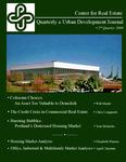 Center for Real Estate Quarterly, Volume 3, Number 2