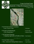 Center for Real Estate Quarterly, Volume 3, Number 3
