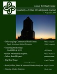 Center for Real Estate Quarterly, Volume 3, Number 4