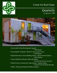 Center for Real Estate Quarterly, Volume 2, Number 1 by Portland State University. Center for Real Estate