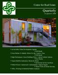 Center for Real Estate Quarterly, Volume 2, Number 1