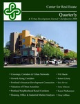 Center for Real Estate Quarterly, Volume 2, Number 2