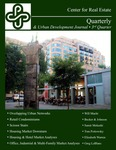 Center for Real Estate Quarterly, Volume 2, Number 3 by Portland State University. Center for Real Estate