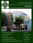 Center for Real Estate Quarterly, Volume 2, Number 3