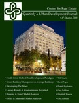 Center for Real Estate Quarterly, Volume 2, Number 4