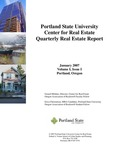 Center for Real Estate Quarterly, Volume 1, Number 1 by Portland State University. Center for Real Estate