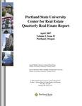 Center for Real Estate Quarterly, Volume 1, Number 2