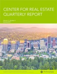 Center for Real Estate Quarterly, Volume 11, Number 3 by Portland State University. Center for Real Estate
