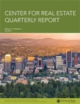 Center for Real Estate Quarterly, Volume 11, Number 4 by Portland State University. Center for Real Estate