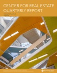 Center for Real Estate Quarterly, Volume 12, Number 4 by Portland State University. Center for Real Estate