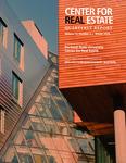 Center for Real Estate Quarterly, Volume 13, Number 1