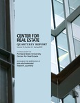 Center for Real Estate Quarterly, Volume 13, Number 2