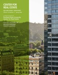 Center for Real Estate Quarterly, Volume 14, Number 2