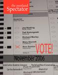 The Portland Spectator, November 2006