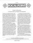Focal Point, Volume 02 Number 01 by Portland State University. Regional Research Institute