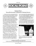 Focal Point, Volume 02 Number 02 by Portland State University. Regional Research Institute